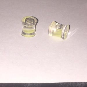 Jewelry - liquid filled plugs